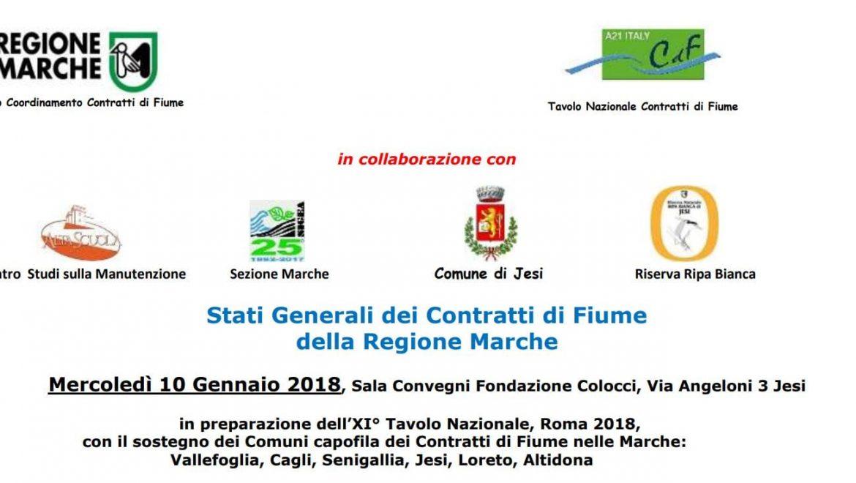 Stati Generali dei Contratti di Fiume della Regione Marche