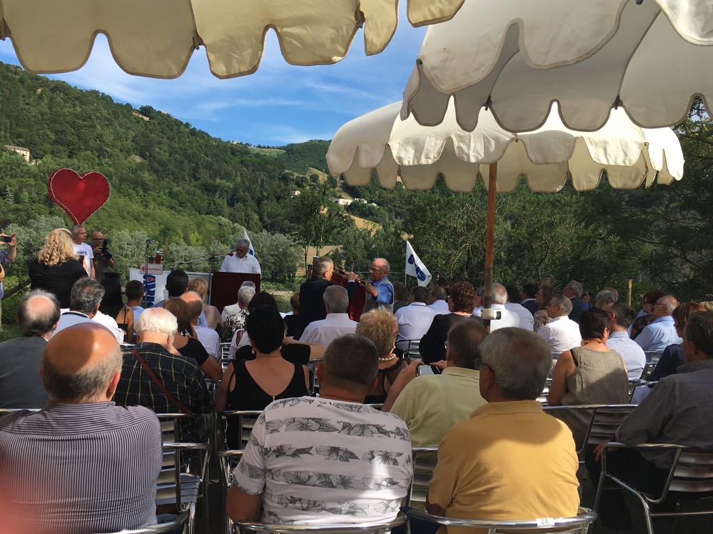 Grande successo all'inaugurazione del nuovo Centro di raccolta sangue dell'Avis a Mercatale di Sassocorvaro.