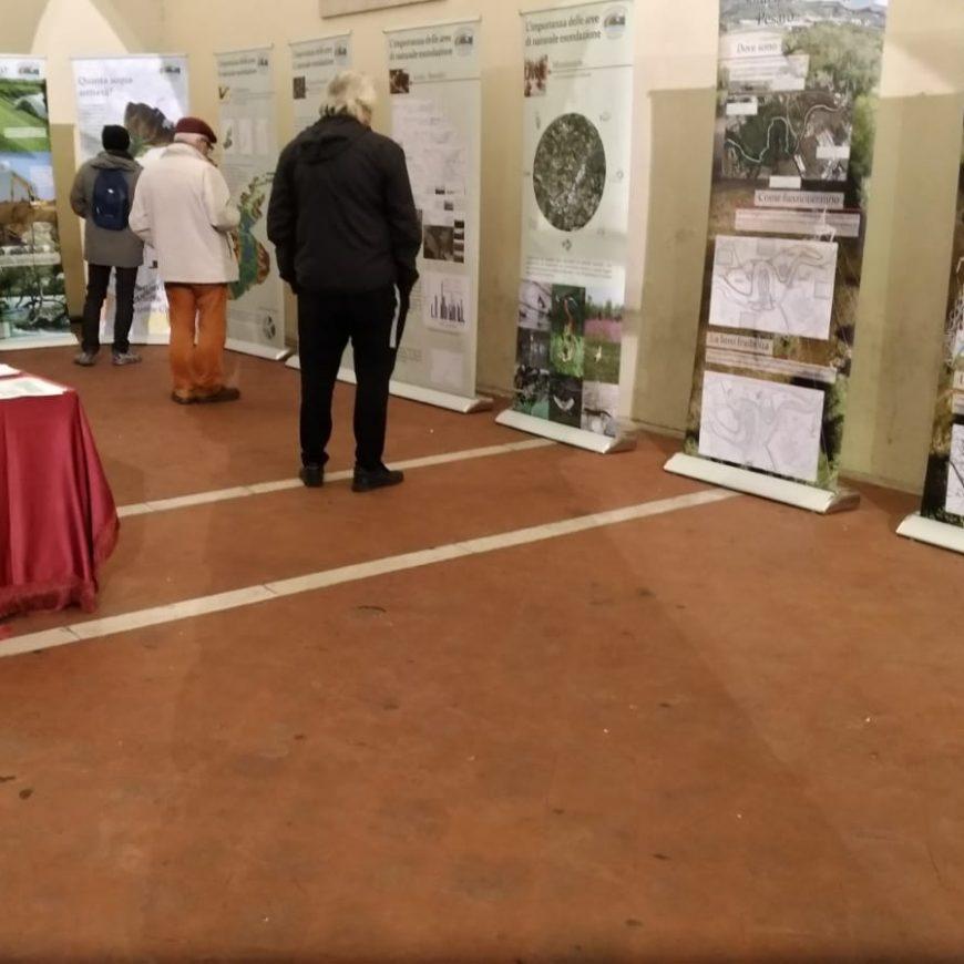 Grande successo della mostra sulle Aree di esondazione del Foglia. Guarda il servizio girato da Tele 2000  durante l'inaugurazione