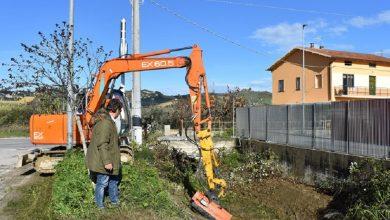 Pietre e vegetazione rimossi dai Fossi di Monteprandone. Leggi l'articolo pubblicato su Riviera Oggi