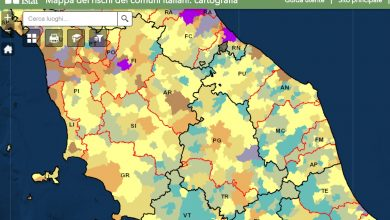La mappa del rischio nei Comuni marchigiani: l'Istat fotografa la situazione nella nostra regione