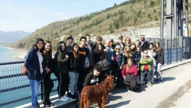 Gli studenti dell'istituto Ricci alla scoperta della diga di Cingoli