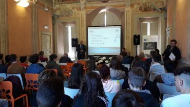 Le moderne tecniche di irrigazione per un'agricoltura di qualità. Il Consorzio di Bonifica fa scuola all'Istituto Agrario di Pesaro.