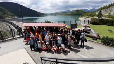 La scuola Maggini di Ancona in visita alla diga di Cingoli