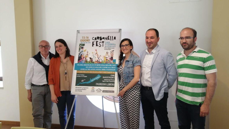 Il lago di Gerosa sarà la splendida cornice del 'Carbonella Fest'