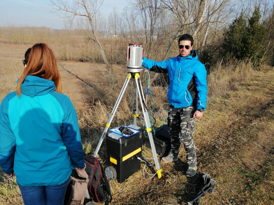 Tecnologia al servizio del Consorzio: fiumi marchigiani scannerizzati in 3D