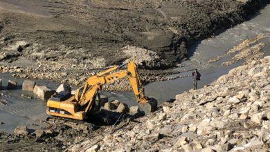 Lavori straordinari alla diga di Mercatale. Sistemata una frana causata dalla laminazione che ha salvato Pesaro da una piena eccezionale.