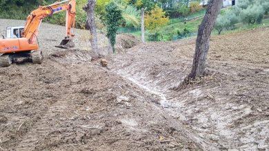Terminati i lavori nel fosso Marecchia Conca 169, in località Siepe Grande, nel Comune di Sassofeltrio (PU)