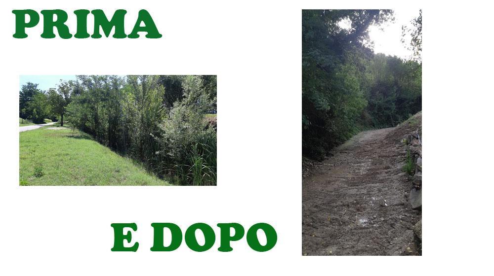 Torna a defluire regolarmente l'acqua nel torrente Mulinello, tra il comune di Urbino e Petriano.