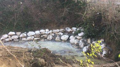 Partiti i lavori di messa in sicurezza del fosso Fossato, in Comune di Castelbellino (An). Saranno ultimati entro la settimana prossima