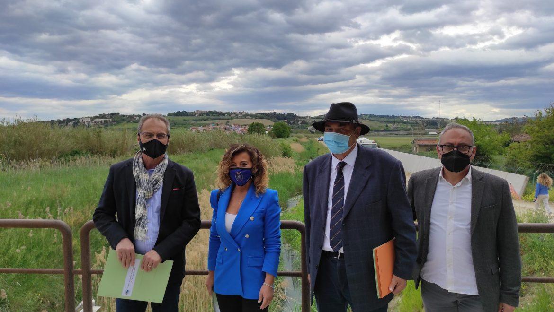 Riduzione del rischio idraulico a Falconara, il Consorzio al lavoro nell'area aeroportuale