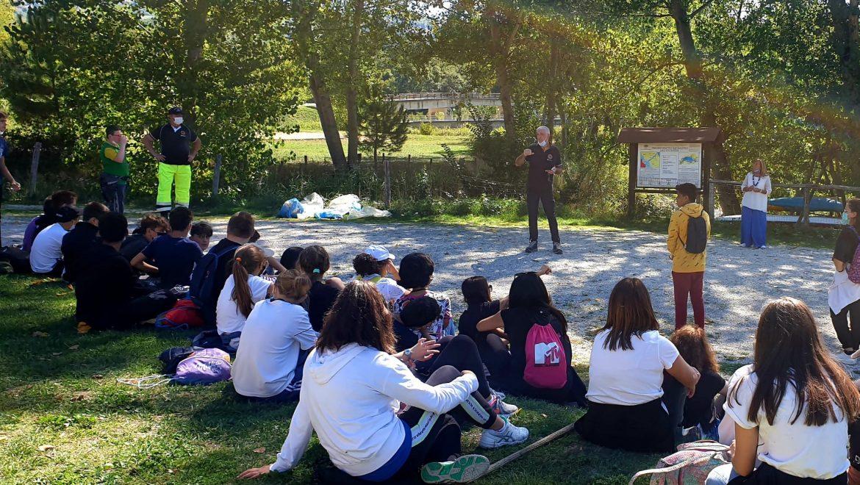 Giornata ecologica al lago di San Ruffino